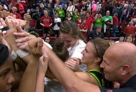 International Women's Day: Oregon head coach Kelly Graves inspired by his team 'to be a better coach, better person'