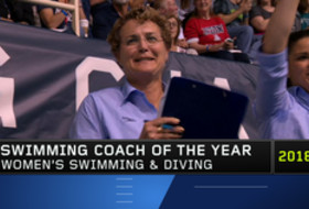 Cal's Teri McKeever honored as 2019 Pac-12 Women's Swimming Coach of the Year