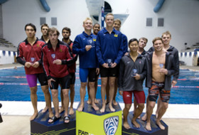 Day 3 at Pac-12 Men's Swimming Championship culminates with another outstanding finish for the Bears