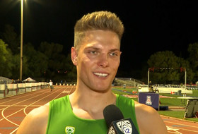 2019 Pac-12 Track & Field Championships: Oregon's Max Vollmer 'stayed relaxed' for decathlon lead on opening day