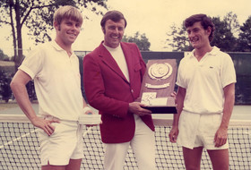 2019 Pac-12 Hall of Honor inductee: Stanford men's tennis coach Dick Gould