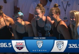 Pac-12 Captures Dual Meet Win at USA College Challenge: Recap courtesy of USA Swimming