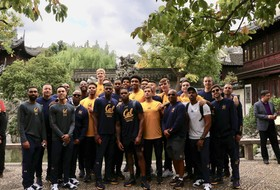 2018 Pac-12 China Game: California men's basketball takes in the sights and sounds of Shanghai