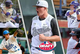 Second day of the 2015 MLB Draft... Washington's Braden Bishop and Austin Rei, UCLA's Cody Peteet, Oregon's Garrett Cleavinger, Oregon State's Jeff Hendrix