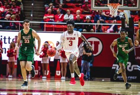 Recap: Utah men's basketball makes 17 three-pointers to tie program record in blowout win over Mississippi Valley State