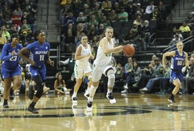 Oregon's Sabrina Ionescu notches 12th career triple-double, ties NCAA all-time record