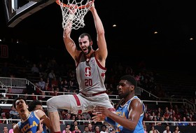 Highlights: Stanford men's basketball scores more than 100 points in a Pac-12 game for first time since 2011-12 in win over UCLA