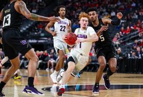 2020 Pac-12 Men's Basketball Tournament: No. 5 Arizona tops No. 12 Washington with balanced scoring attack