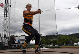 NCAA Track & Field Championships: Arizona State's Maggie Ewen takes NCAA hammer title, sets collegiate record