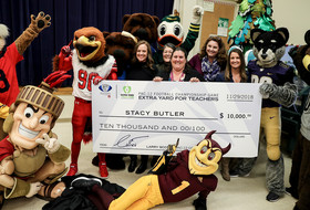 Pac-12 and CFP Foundation's Extra Yard for Teachers awards Pomeroy Elementary School teacher $10,000