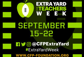 Extra Yard for Teachers Week comes to Pac-12 Networks as Pac-12 and College Football Playoff Foundation continue partnership