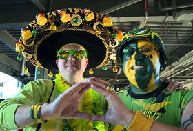 Qwakrz and Ducknut reunite at Fiesta Bowl