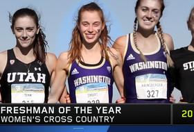 Washington's Mel Smart named 2019 Pac-12 Women's Cross Freshman of the Year