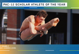 USC's Fusaro Named Pac-12 Men's Swimming & Diving Scholar-Athlete of the Year