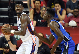 Deandre Ayton posts 2nd straight double-double vs. talented frontcourt in NBA Summer League