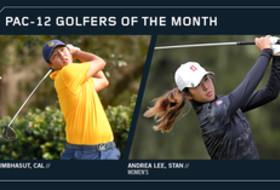 California's KK Limbhasut, Stanford's Andrea Lee Take October Golf Honors