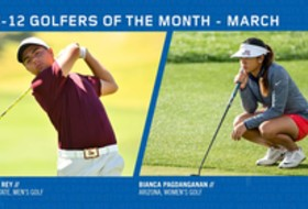 Pagdanganan, Del Rey earn March Golfer of the Month honors