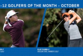 Pac-12 October Golfers of the Month