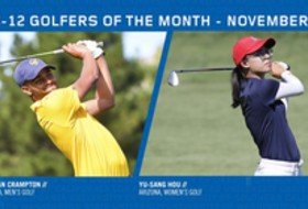 Pac-12 November Golfers of the Month