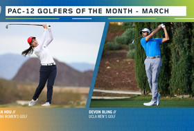 Bling, Hou earn March Golfer of the Month