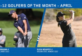 Morikawa, Mehaffey earn April Golfer of the Month honors