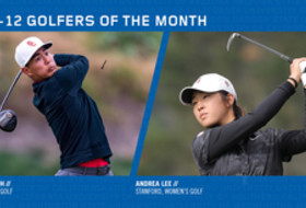 Suh, Lee earn February Golfer of the Month honors