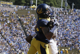 Cal's Chris Harper makes one-handed touchdown catch