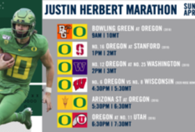 Pac-12 Networks to air all-day marathons dedicated to NFL draft prospects Justin Herbert, Laviska Shenault Jr., Brandon Aiyuk and Jacob Eason, starting this Sunday on Pac-12 Network