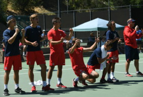Arizona Advances Day One of Pac-12 Men's Tennis Championship
