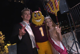 Arizona State crowns 2017 homecoming king and queen