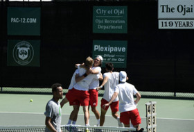 Utah advances on day one of 2019 Pac-12 Men's Tennis Championship
