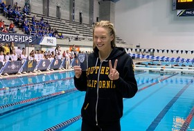 2019 Pac-12 Swimming (W) & Diving (M/W) Championships: USC's Louise Hansson wins 200-yard IM to collect her third career Pac-12 title