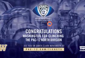 2018 Pac-12 Football Championship Game set, Washington secures the North