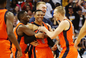 Roundup: Russell Westbrook sets NBA triple-double record