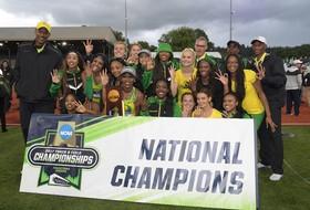 2017 NCAA Women's Outdoor Track & Field Champions Oregon