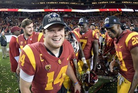 2017 Pac-12 Football Championship: Goal-line stand lifts USC past Stanford