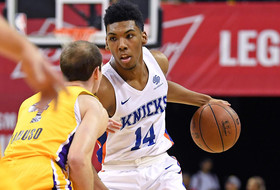 Allonzo Trier providing solid early returns on 2-way contract at Summer League