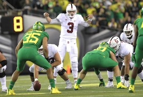 Roundup: Big ratings for Stanford-Oregon game in Eugene