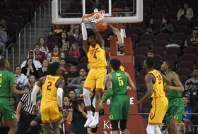 Highlights: USC men's basketball shines defensively to defeat Oregon, snap two-game skid at home