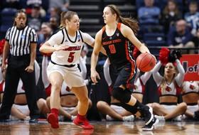 2019 NCAA Women's Basketball Tournament: Top-seeded Louisville eliminates No. 4 Oregon State in Sweet 16 battle