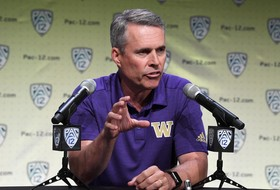 2019 Pac-12 Football Media Day: Washington's Chris Petersen talks about preseason preparation ahead of camp