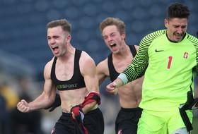 Stanford men's soccer's Sam Werner after scoring game-winning goal for NCAA title: 'It feels incredible'