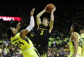 Highlights: Oregon men's basketball can't overcome early deficit, falls to Baylor