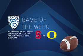 Pac-10 Game of the Week: Oregon vs. Stanford
