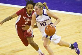 UW's Kingma Named Pac-10 Women's Basketball Player of the Week