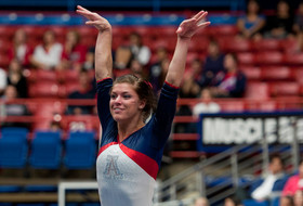 Ishino, Russell Earn Weekly Gymnastics Honors