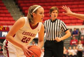 WSU's Romberg Named Pac-10 Women's Basketball Player of the Week