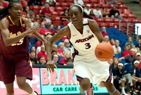 Arizona's Ibekwe Named Pac-10 Women's Basketball Player of the Week