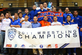 Boise State Wins 2011 Pac-10 Wrestling Championship
