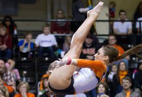 Stambaugh, Pritchett and Hughes earn weekly gymnastics honors